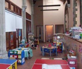 Inside St Paul's Church, Thornton Heath